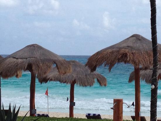 Club Regina Cancun : Beautiful beach!!