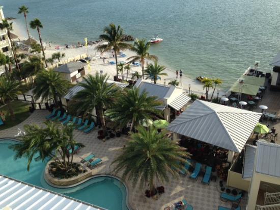 Shephard S Beach Resort View From 6th Floor