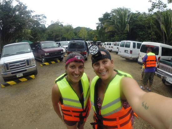 Cave Tubing R Us: Headlamps!