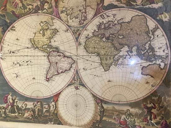 Mid 17th century map of the world picture of the old map gallery the old map gallery mid 17th century map of the world gumiabroncs Choice Image