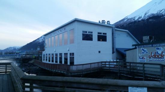 Chinooks Waterfront Restaurant: rear