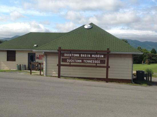 Ducktown Basin Museum: The museum.