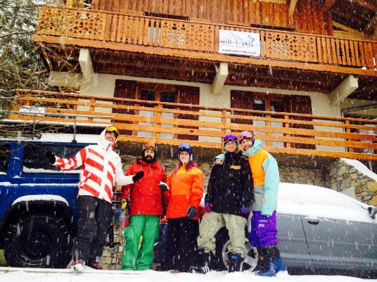 Chalet Marmotte: in front of the chalet