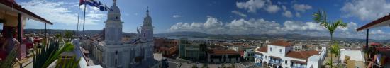 Hotel Casa Granda Restaurant: Panorama from the top