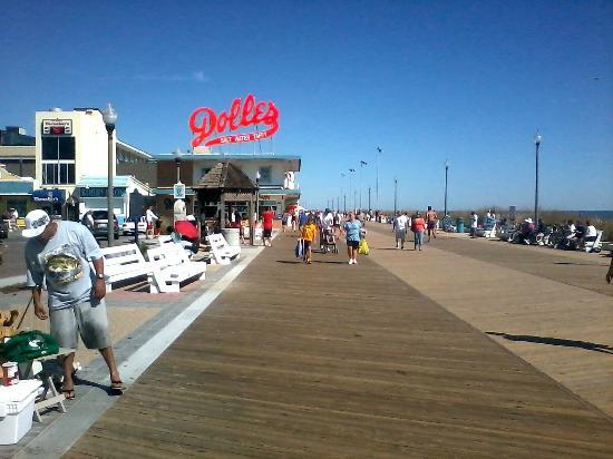 The Rehoboth Beach Boardwalk