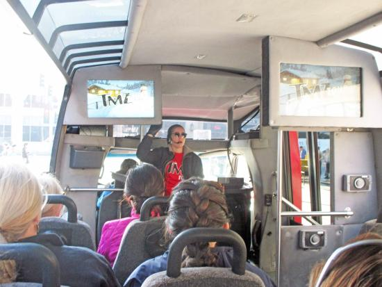 On the tour picture of tmz celebrity tour los for Tmz tours in los angeles
