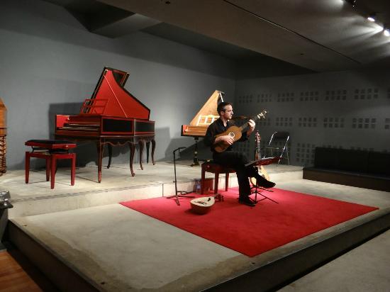 Philharmonie de Paris: Apresentação com instrumentos antigos