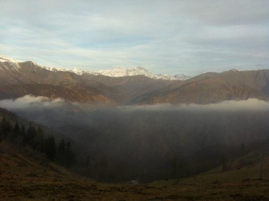 Trivero, Włochy: Panorama del Monte Rosa dalla Bocchetta di Margosio