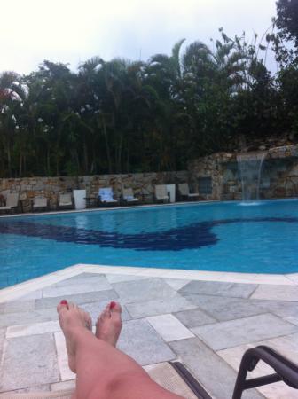Salvetti Praia Hotel: Piscina externa