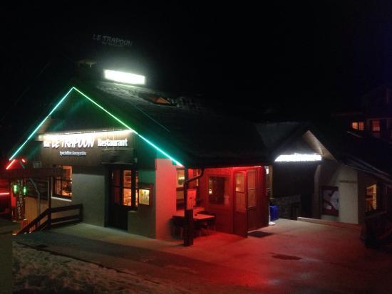 Restaurant Le Trapoun : Restaurant Entrance