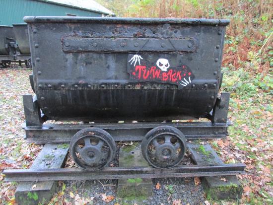 Dolaucothi Gold Mines: Halloween visit