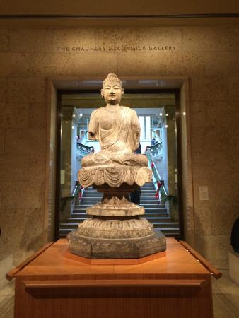 A Buddha In The Chauncey McCormick Gallery Picture Of The Art Institute Of