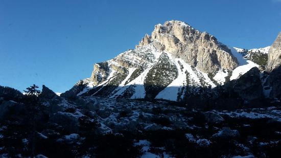 Rifugio Fanes Hutte: Natura incantevole