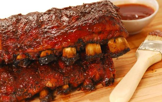 """Jacksonport, WI: Mary's bbq ribs won """"BEST OF DOOR COUNTY 2014"""". Fall-off-the-bone tender and delicious!"""