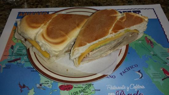 Restaurante y Cafeteria Del Prado: Del Prado Sandwich