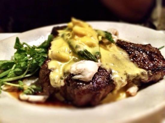 Jacksonport, WI: Ribeye Oscar - Saturday Night Special