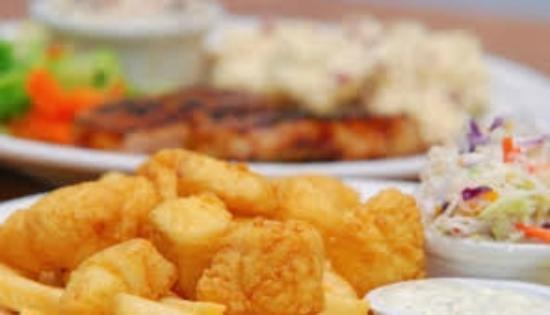 Jacksonport, Ουισκόνσιν: Deep Fried Scallops - Friday Night Menu