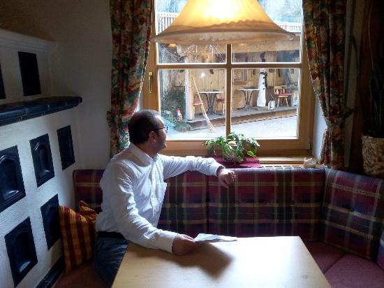 Hotel Bergschlössl: ...sala merenda