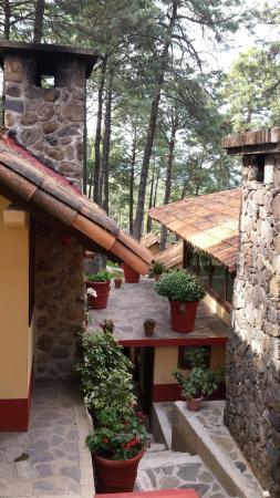 Villas Mazamitla: Vista de las cabañas