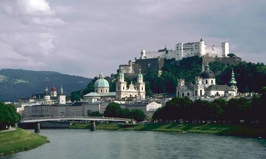 Salzburger Altstadt: old town Salzburg