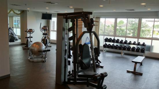 Viva Garden Serviced Residence: Workout