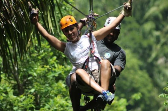 Feel like flying? :) Caribe Sky Canopy Tour — Best Zipline in Roatan