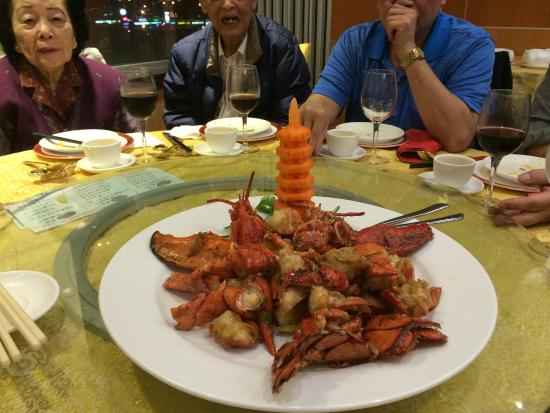 Victory Seafood Restaurant: Lobster dish