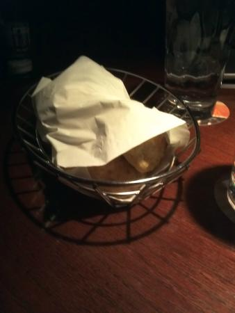 Red Lobster: The garlic cheese bread wrapped to stay warm