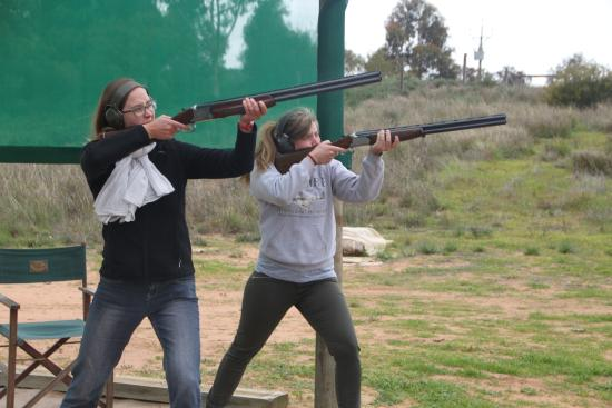 Riverview Rise Retreats : Clay Target Shooting experience