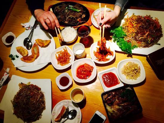 Korean Village Han Kuk Kwan: Очень вкусно!