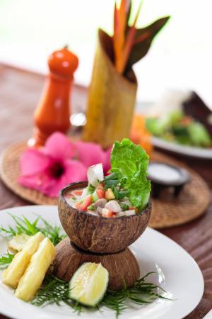 Mango Bay Resort: Fijian Food-Kokoda