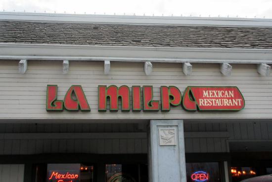 La Milpa Restaurant Milpitas Menu