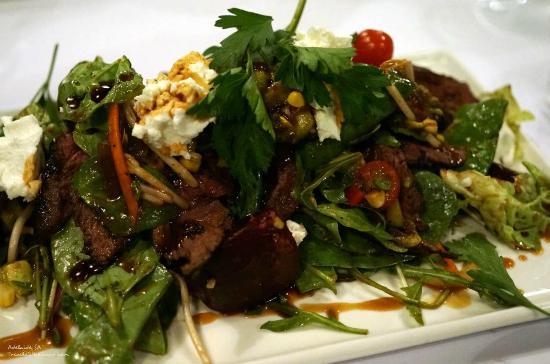 Austral: Marinated Kangaroo Salad