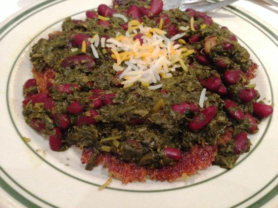 Raffi's Place Restaurant : Ghormeh Sabzi on Barg
