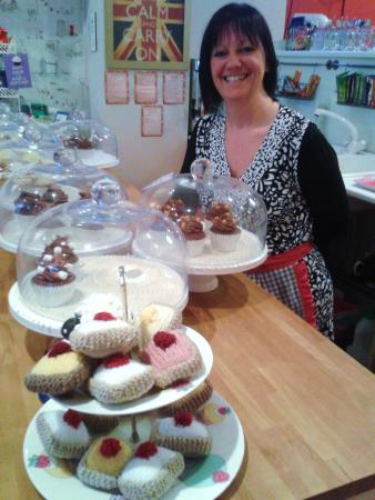 A Right Royal Tea Party: The baker and her cup-cakes!!