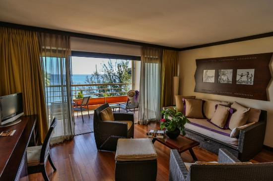 Tahiti Pearl Beach Resort: Ocean View Suite
