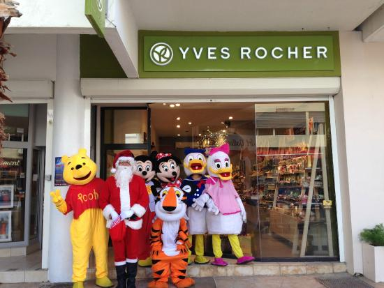Christmas 2014 at Yves Rocher