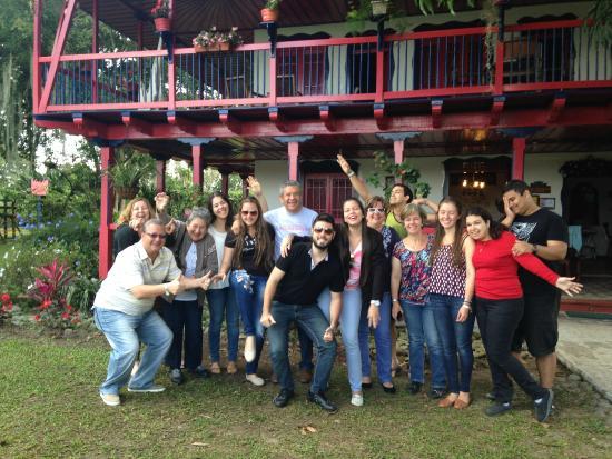 Finca Cafetera El Balso : Good times!!!