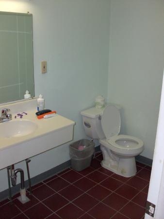 Knights Inn Poconos/Bartonsville: View of bathroom