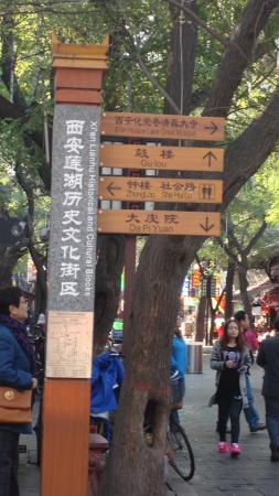 MYFO Wanshunyuan Inn: Historic District Sign