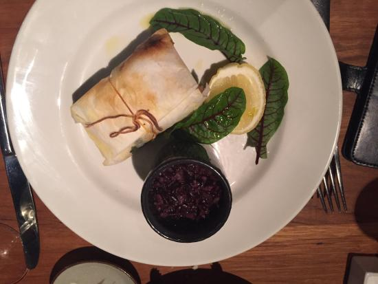 Mirka : Steamed salmon wrapped in baking parchment