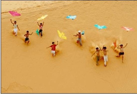 Mui Ne Paradise Beach Resort: RED SANDUNE