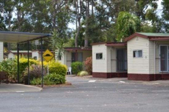 North Coast Holiday Parks Coffs Harbour: Clean and private cabins