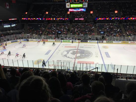 Griffins Game Picture Of Van Andel Arena Grand Rapids