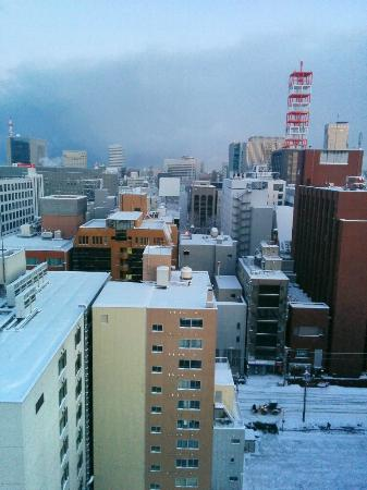 Nest Hotel Sapporo Odori: 朝食会場からの眺め