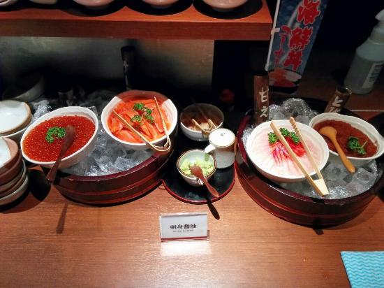 Nest Hotel Sapporo Odori: 海鮮バイキング