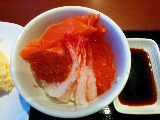 Nest Hotel Sapporo Odori: 海鮮丼