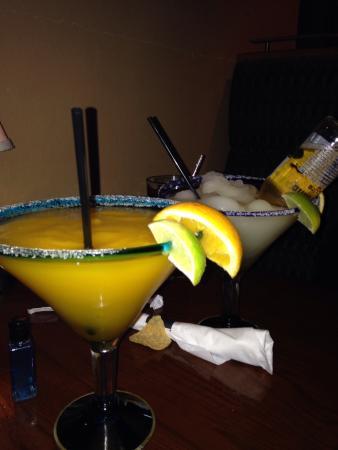 Santo Coyote: Mango and Corona Margaritas!