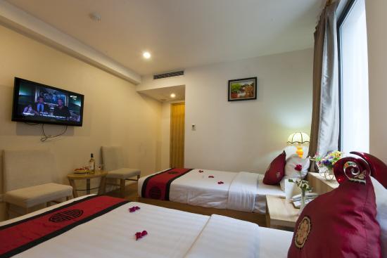 Hanoi Romance Hotel : Deluxe room