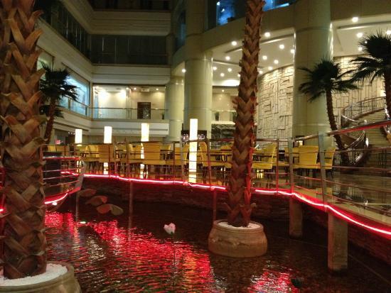 Baoan Hotel: vue depuis la salle a manger